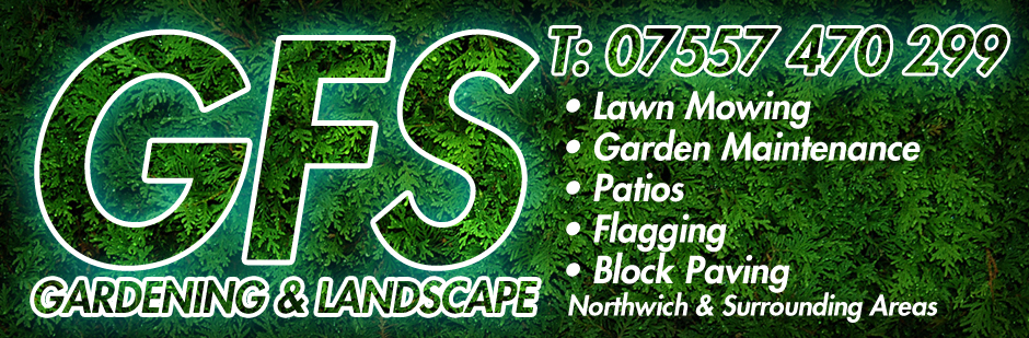 GFS Gardening Services Advert